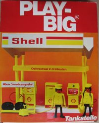 5742-400-8 Play-Big Tankstelle Shell