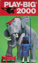 6085 Play-Big 2000 Zirkus-Elefant